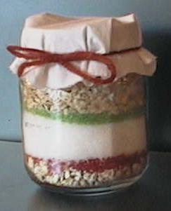 Magic reindeer food in a small ziploc bag or baby food container mix forumfinder Choice Image