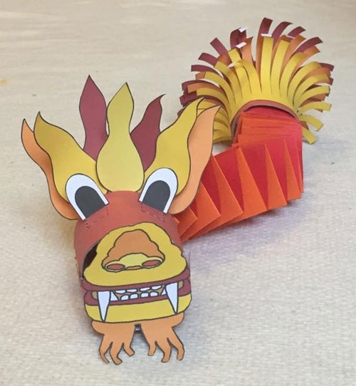 Chinese Dragon TP Roll Craft