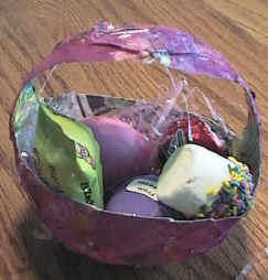 DLTKs Crafts For Kids Paper Mache Easter Basket