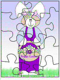Easter Printable Jigsaw Puzzle