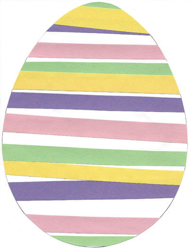 Easter Egg Patterning Paper Craft