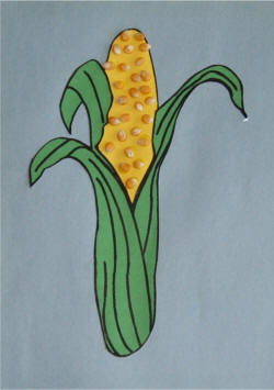 Corn Cob Craft