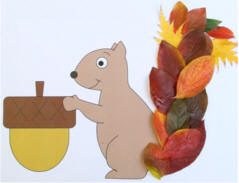 Autumn Leaves And Trees Crafts For Kids