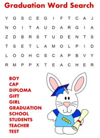 word searches graduation index cards coloring crafts printables poem ...