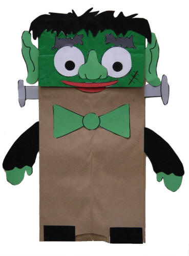 Paper Bag Crafts For Kids
