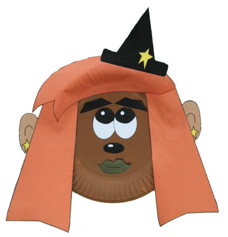 Paper Plate Witch Craft  sc 1 st  DLTK-Holidays & mplatewitch.jpg