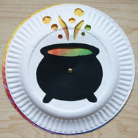 colour changing cauldron craft
