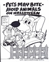 IBSD Halloween Safety Coloring Page 6