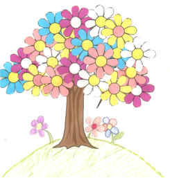 dltks crafts for kids spring tree - Spring Pictures For Kids