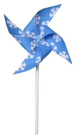 Winter Pinwheel Craft