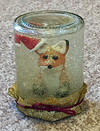Snowglobe: fox
