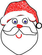 christmas shapes coloring pages