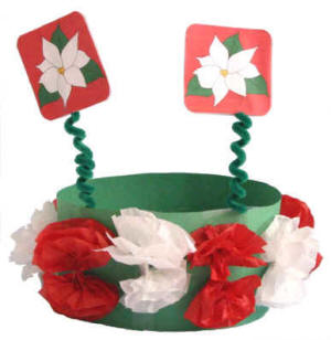 Christmas Hats For Kids.Christmas Crown Or Hat