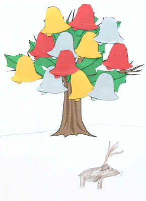 A different kind of christmas tree craft for Dltk crafts for kids